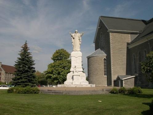 Statue du Sacré-Cœur